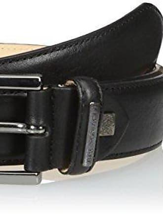 Bruno Magli Mens Stamped Leather Belt