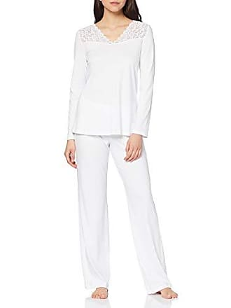 1becc0fe841cb Hanro Moments NW Pyjama 1/1 Arm Ensemble, Blanc (0101), 44