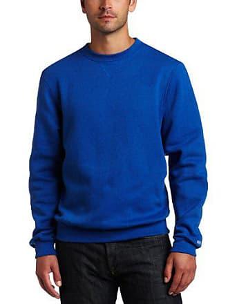 Soffe Mens Training Fleece Crew Sweatshirt, Royal XX-Large