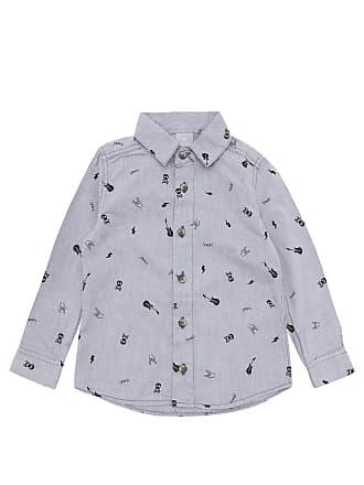Hering Kids Camisa Hering Kids Menino Outras Cinza