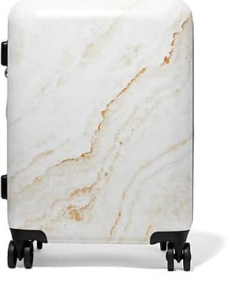 Calpak Metallic Marbled Hardshell Suitcase - Gold