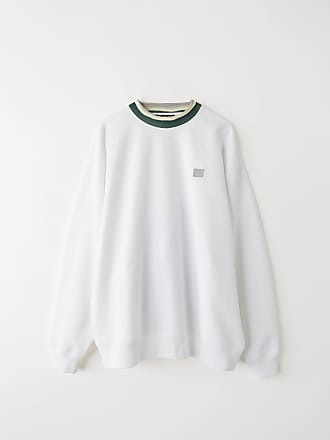 Acne Studios FA-UX-SWEA000019 Optic White Crewneck sweater