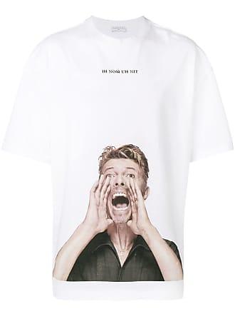Ih Nom Uh Nit Camiseta com estampa do David Bowie - Branco