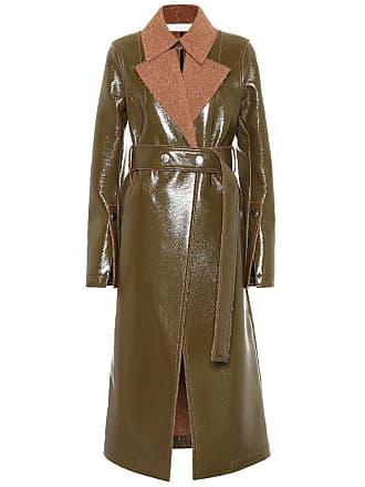 Victoria Beckham Vinyl and wool coat