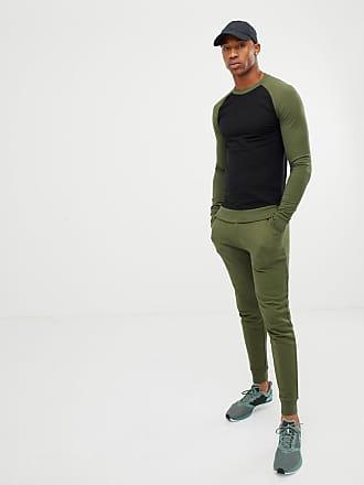 Asos Survêtement avec sweat-shirt moulant avec manches raglan et pantalon  de jogging skinny - 220391b918c