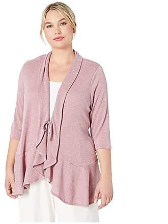 94fa92de66a Kiyonna Love Story Cardigan (Sparkling Rose) Womens Sweater