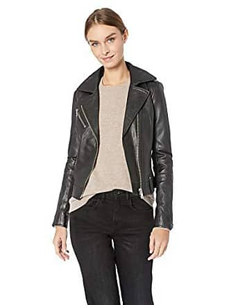 Joe's Womens Raquel Moto Leather Jacket, M