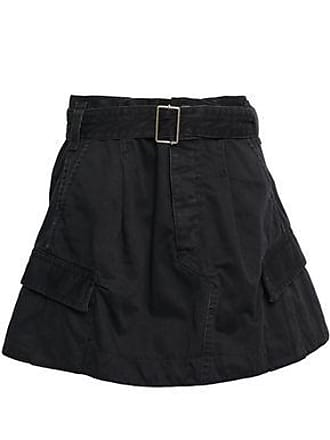 3562ec7fe5 Marc Jacobs Marc Jacobs Woman Belted Cotton-twill Mini Skirt Black Size 0