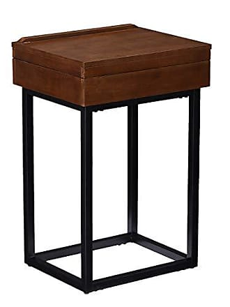 Southern Enterprises Holly and Martin OC9859 Cayson end Table, Brown