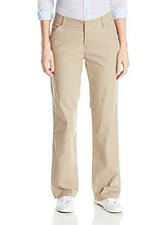 Dickies Womens Relaxed Fit Straight Leg Twill Pant, Desert Sand, 8 Short