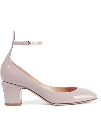 1bc6be81ee4 Valentino Valentino Garavani Woman Tango Patent-leather Mary Jane Pumps  Pastel Pink Size 36
