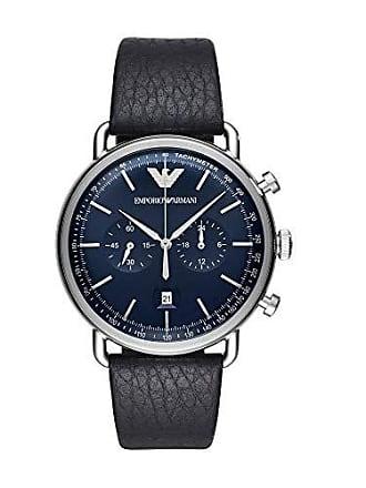 Emporio Armani Relógio Empório Armani Masculino Classic Aviator Preto - Ar11105/0an