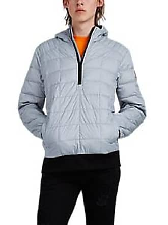 ecb5a4c23bb Canada Goose Mens Wilmington Down-Quilted Pullover Jacket - Silver Size L