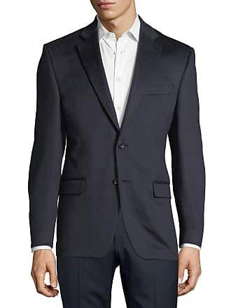 Neiman Marcus Cashmere Two-Button Blazer, Navy