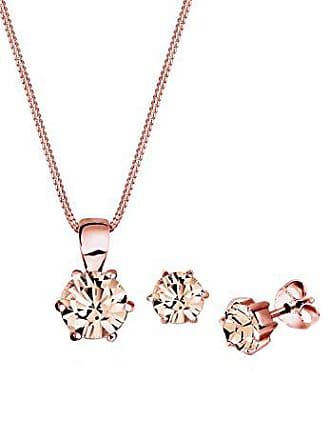 7bf720312256 Elli conjunto de collar y pendientes plata de ley con cristal Swarovski