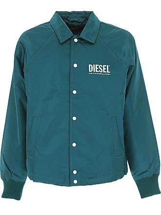 982630b014f4 Diesel Jacke für Herren, Petroleumfarben, Nylon, 2017, ...