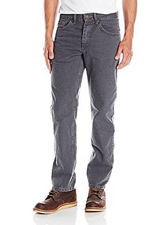 Lee Mens Regular Fit Straight Leg Jean, Charcoal, 28W x 32L