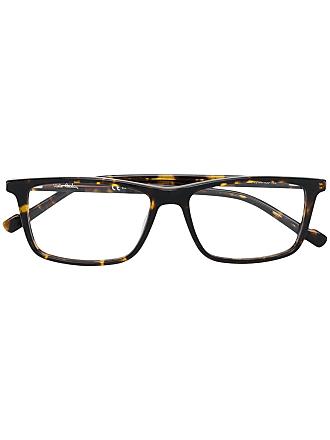 Pierre Cardin Óculos armação quadrada - Marrom