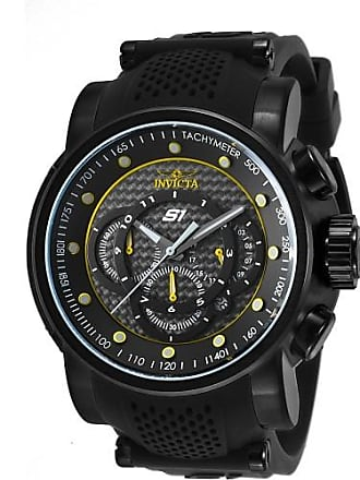 Invicta Watches Mens S1 Rally Chronograph Silicone Band Watch