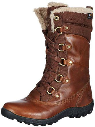 Timberland Womens MOUNT HOPE F/L WP TOBACO Insulated Boot, Tobacco, 8 M US