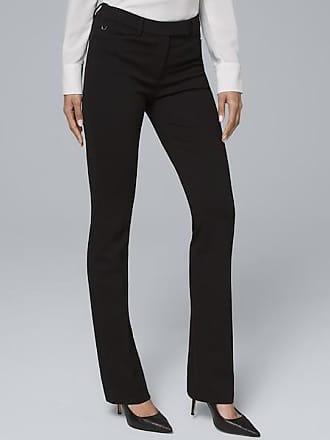 White House Black Market Womens Effortless Slim Bootcut Pants by White House Black Market, Black, Size 00 - Regular