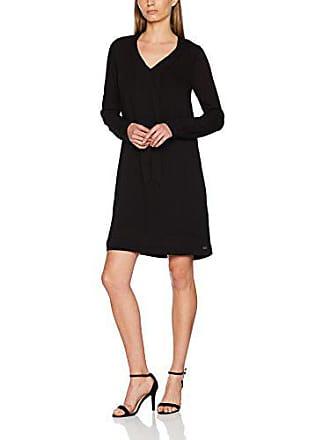 e1e80240068 Ddp F9BALIM7 Robe Femme Noir (Black) 42 (Taille Fabricant  XL) Lot
