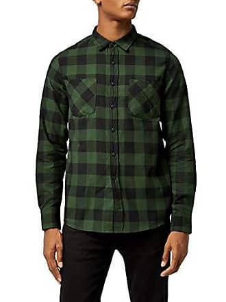 ec46a5bf13 Urban Classics Checked Flanell Shirt Camisa