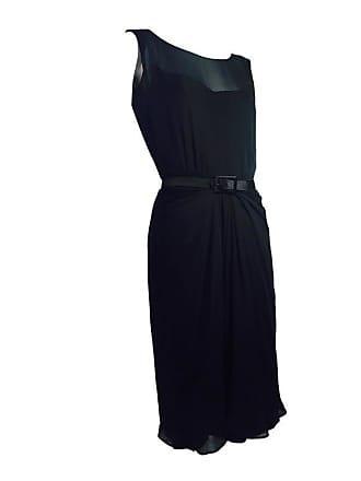 ef893c35b1 James Galanos 1950s James Galanos Little Black Dress In Silk Chiffon W   Front Draping