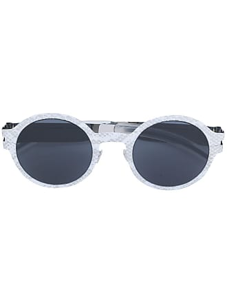 0f8831a85cb18 Mykita Óculos de sol com armação arredondada - Branco