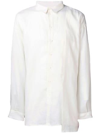 Isabel Benenato Camisa de linho - Branco