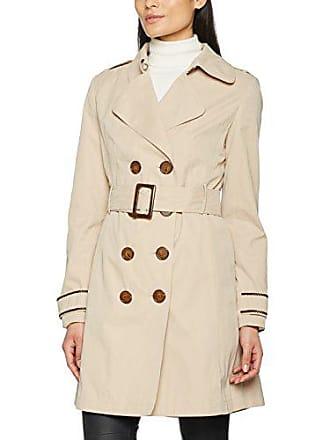 Nafnaf Bebisa V1, Trench Coat Femme, Beige, 38 (Taille Fabricant 38 fd325be4174