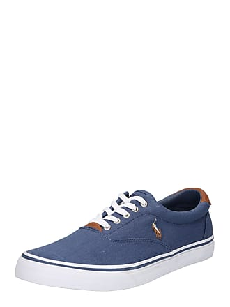 1be0178178b Ralph Lauren Sneakers laag Thorton washed twill navy