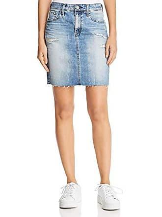 72e85309ee AG - Adriano Goldschmied Womens Denim Erin Pencil Skirt, Years Indigo  Deluge Destructed 30
