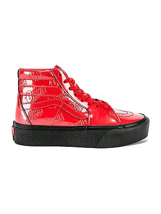 Vans x Bowie Sk8-Hi Platform 2.0 Sneaker in Red