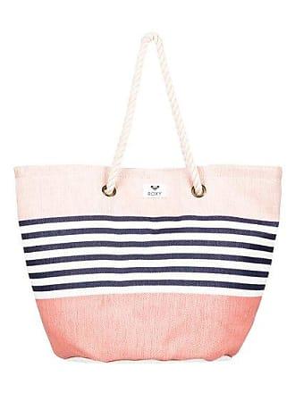 ecec3ac6faf7c Roxy Sunseeker 30L - Strandtasche aus Stroh - Rosa - Roxy