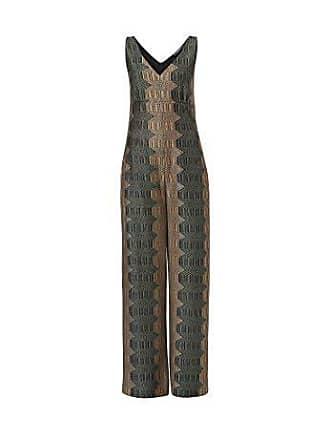 a2f42757f1ca2e Hallhuber Jersey-Jumpsuit aus Jacquard weit geschnitten Multicolor, S