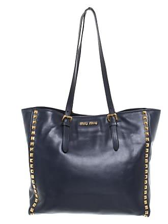 1f7deed3e6175 Miu Miu gebraucht - Handtasche aus Leder in Blau - Damen - Leder