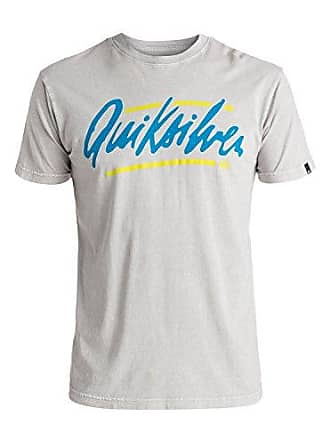 Quiksilver Mens Loose Script T-Shirt, High Rise, Small