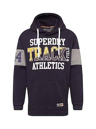 0f26664c81edbb Superdry Sweatshirt SUPER TRACK OVERSIZED HOOD navy   geel   wit