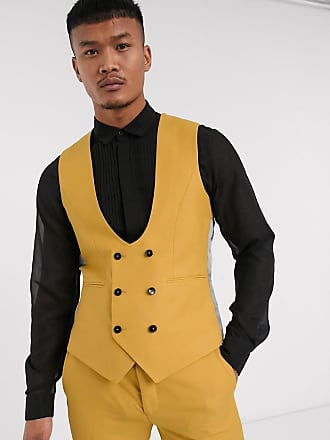 Twisted Tailor Hemmingway - Gilet giallo scuro
