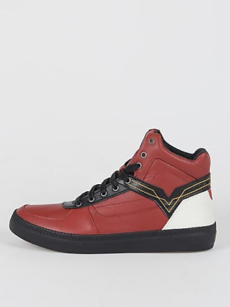 Diesel Embroidery Leather DIESEL X SFV V SNEAKERS size 40,5