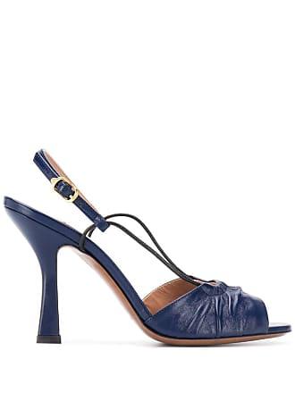 L'autre Chose open toe heel sandals - Blue