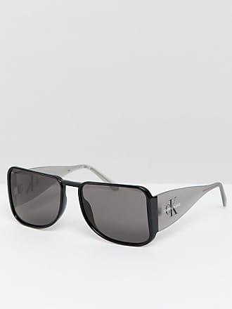 673a67d959 Calvin Klein Jeans CKJ18501S - Lunettes de soleil carrées - Noir