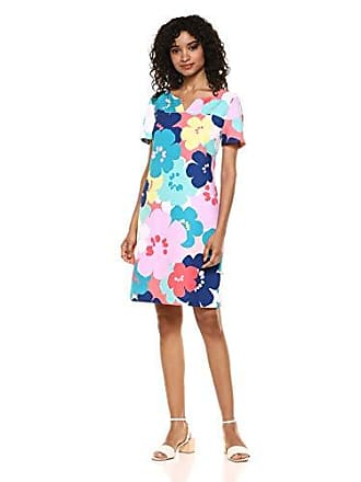 0da51352ef4b Trina Turk Trina Trina Turk Womens Crowd Short Sleeve Shift Dress, pop Art  Flowers,