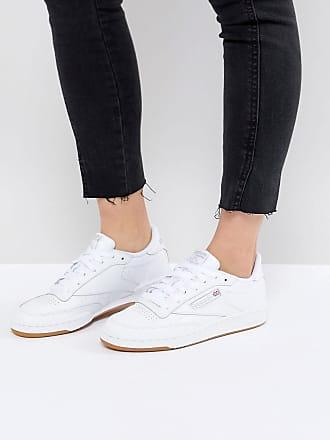 Reebok Classic Club C 85 - Weiße Ledersneaker mit Gummisohle