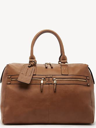 Sole Society Womens Zypa Weekender Vegan Duffel In Color: Cognac Bag Vegan Leather From Sole Society