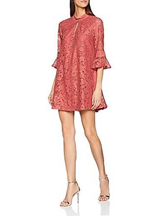 19bda6ec8fce Little Mistress Helene Terracotta Lace Shift Dress Vestito da Sera Donna