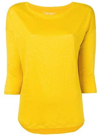 Majestic Filatures Suéter decote arredondado - Amarelo