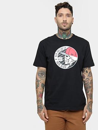 6d51ac6655e33 Camisetas em Preto para Masculino por New Era®   Stylight