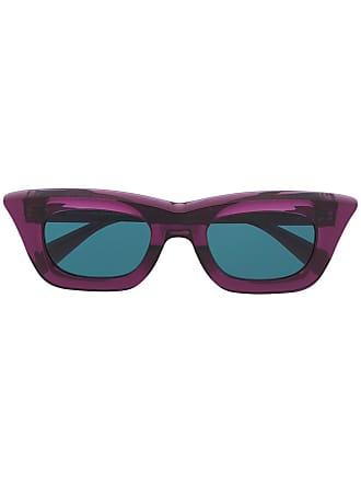 Kuboraum cat eye frame sunglasses - Roxo